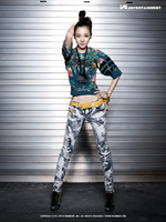 2NE1 Dara 1st Mini Album promo photo 4