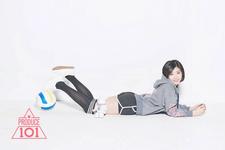 Produce 101 Ma Eun Jin promo photo (3)
