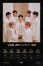WayV Take Over the Moon scheduler