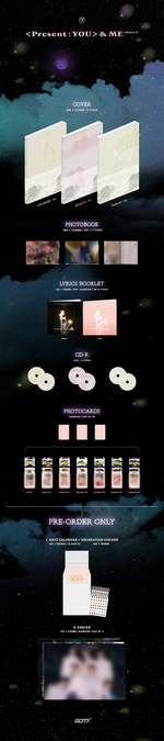 GOT7 Present You & Me Edition album preview