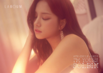 LABOUM Solbin I'm Yours promotional photo