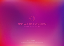EVERGLOW Arrival of EVERGLOW typo teaser