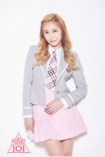 Produce 101 Heo Chanmi profile photo