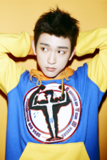 GOT7 Jinyoung Just Right promo photo 2
