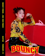 Rocket Punch Dahyun Red Punch concept photo 2