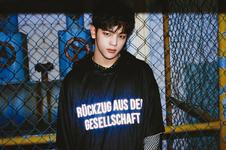 Stray Kids Woojin I Am Who promo photo