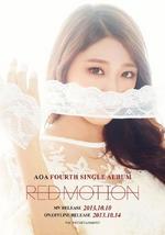 AOA Seolhyun Red Motion concept photo