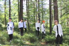 BLACK6IX Like a Flower group promo photo