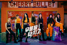 Cherry Bullet Hands Up group title poster (1)