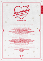 TWICE Heart Shaker lyrics
