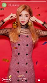 HELLOVENUS Seoyoung FM201.8 Last Hz promotional photo