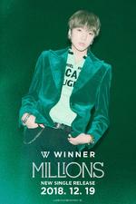 WINNER Millions Yoon teaser photo