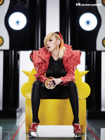 2NE1 CL To Anyone promo photo 2