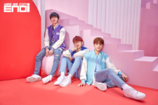 ENOi Jinwoo & Hamin & Avin Red In The Apple unit concept photo