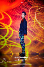 GOT7 BamBam Spinning Top Between Security & Insecurity concept photo 1