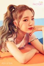 Fromis 9 Roh Jisun Fun Factory concept photo Factory ver