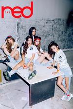 Red Velvet The Red group promo photo