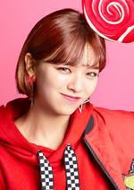 TWICE Jeongyeon Candy Pop promo photo