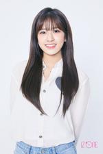 IZONE An Yu Jin official profile photo