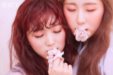 IZONE Yabuki Nako Lee Chae Yeon Heart IZ unit photo photo