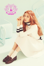 Lovelyz Jeong Ye In Lovelinus concept photo