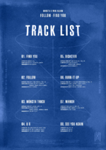 MONSTA X Follow Find You tracklist