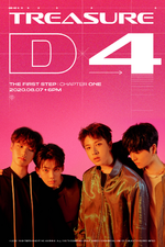 TREASURE The First Step - Chapter One D-4 poster