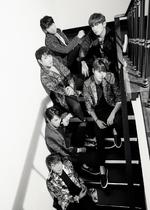 Shinhwa Unchanging Orange group photo