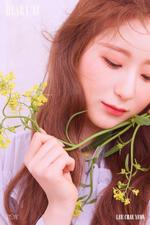 IZONE Lee Chae Yeon Heart IZ concept photo Violeta ver
