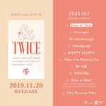 TWICE &TWICE tracklist