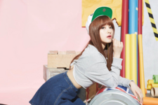 CLC Seunghee First Love promotional photo