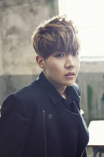 BTS J-Hope Skool Love Affair promo photo