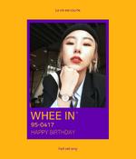 Wheein Birthday post 2018