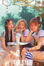 (G)I-DLE The Star August 2018 photo Shuhua & Soyeon & Yuqi