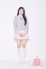 Lee Su Hyun Produce 101 profile photo