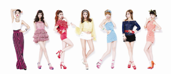 Nine Muses Figaro group photo