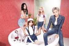 I.C.E 1st Mini Album group promo photo