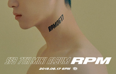 SF9 RPM title poster