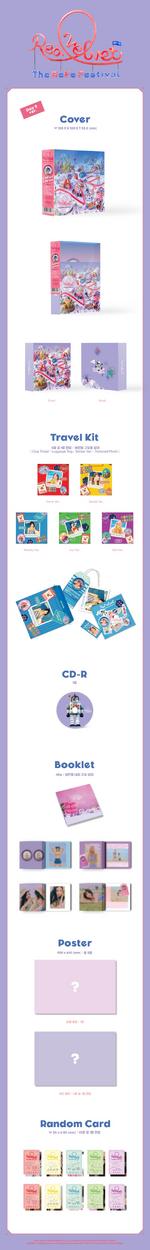 Red Velvet The ReVe Festival Day 2 album packaging (Day 2 ver.)