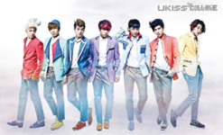 U-KISS Collage group photo