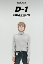 WINNER Jinu We D-1 poster
