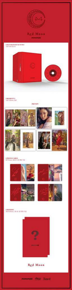 MAMAMOO Red Moon album content
