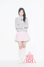 Produce 101 Choi Yubin promo photo 1