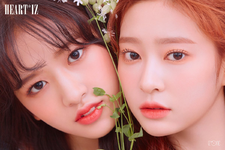 IZONE An Yu Jin Kim Min Ju Heart IZ unit photo photo