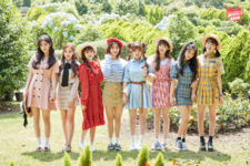 Fromis 9 To. Day group concept photo