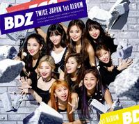 TWICE BDZ First Press Limited Ed. B album cover