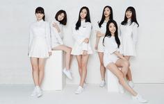 Bonus Baby debut group photo