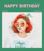 Hwasa Birthday Post Twitter