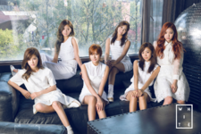Apink Pink Memory (White) group promo photo
