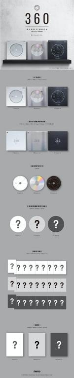 Park Jihoon 360 album packaging